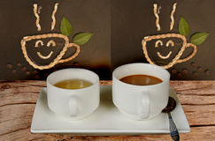 Coffee and tea Stock Photos