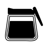 Coffee teapot drink isolated icon Royalty Free Stock Image