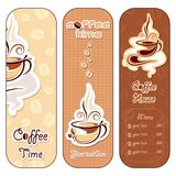Coffee Template Royalty Free Stock Images