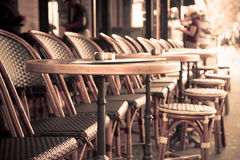 Coffee terrace Royalty Free Stock Images
