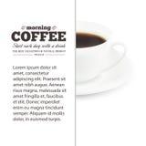 Coffee text design. Stock Photos