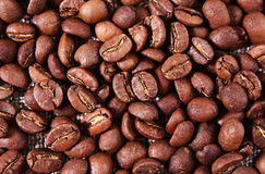 Coffee texture. Close-up Stock Photos