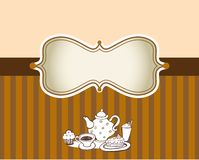 Coffee theme Background Stock Images