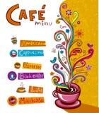 Coffee theme Background Stock Image
