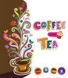 Coffee theme Background Stock Photo