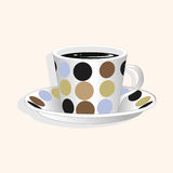 Coffee theme elements vector,eps Stock Photo
