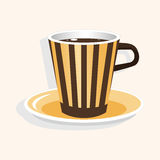 Coffee theme elements vector,eps Royalty Free Stock Image