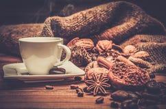 Coffee theme still-life Stock Photography