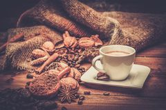 Coffee theme still-life Royalty Free Stock Photography