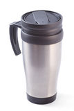 Coffee thermos mug Royalty Free Stock Photo