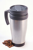 Coffee thermos mug Royalty Free Stock Photography