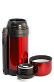 Coffee thermos mug Royalty Free Stock Image