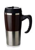 Coffee thermos mug Stock Photos