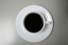 Coffee time!!!. Black coffee for the sleepy eyes Royalty Free Stock Photo
