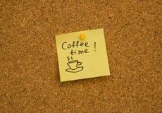 Coffee Time Stock Image