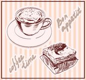 Coffee time Royalty Free Stock Images