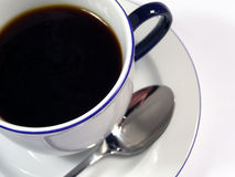 Coffee time. Coffee cup close up Royalty Free Stock Photography