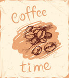 Coffee time background Stock Photo