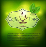 Coffee time background Royalty Free Stock Photos