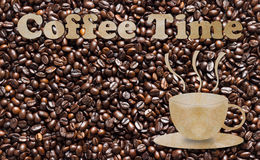 Coffee Time, Break Time Concept Stock Images