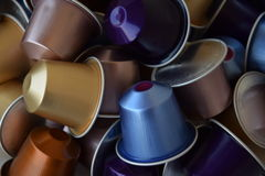 Nespresso Coffee time Royalty Free Stock Image