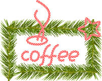 Coffee time during Christmas. Royalty Free Stock Photos