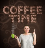 Coffee time, concept Stock Image