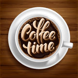 Coffee Time Concept Stock Photo
