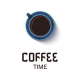 Coffee time concept Stock Images