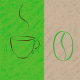 Coffee time royalty free illustration