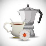 Coffee time design Royalty Free Stock Photos