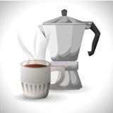 Coffee time design Stock Image