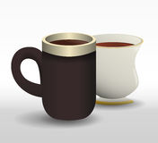 Coffee time design Royalty Free Stock Image