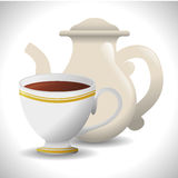 Coffee time design Royalty Free Stock Images