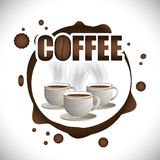Coffee time design. Coffee time design, vector illustration eps 10 Stock Photos