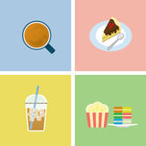 Coffee time icon Royalty Free Stock Image