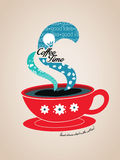 Coffee Time Illustration Stock Photo