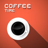 Coffee Time Illustration Royalty Free Stock Photography