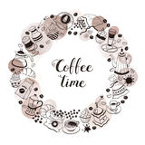 Coffee time poster Stock Photo
