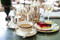 Coffee time. selective focus Royalty Free Stock Images