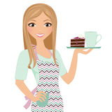 Coffee time woman Royalty Free Stock Photo