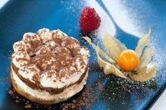 Coffee Titamisu dessert. Royalty Free Stock Images