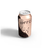 Coffee to Go. 3d render of a coffee can to go Royalty Free Stock Photo
