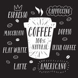 Coffee to go illustration Stock Photos