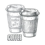 Coffee to go Stock Photo