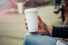 Coffee to go Stock Photography