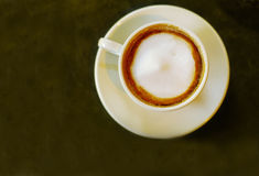 Coffee top Royalty Free Stock Photography