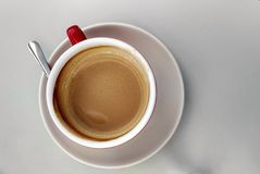 Coffee top stock photography