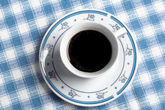 Coffee top view Royalty Free Stock Photos