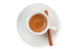 Coffee top view Stock Images